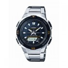 Casio Ana/Digi Solar Powered Watch Stainless Band