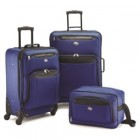 American Tourister Brookfield 3-piece set in Navy/Black