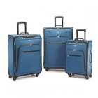 American Tourister At Pop Plus 3Pc. Spinner Set Moroccan Blue