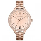 Caravelle New York Ladies Bracelet Crystal Watch