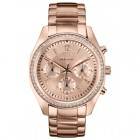 Caravelle New York Ladies Bracelet Chronograph Crystal Watch