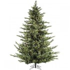 Fraser Hill Farm 7.5 Ft. Foxtail Pine Christmas Tree with Multi-Color LED String Lighting