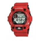 Casio G-Shock Rescue Digital Watch Red