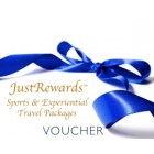 $3000 JustRewards Sports and Experiential Travel Voucher
