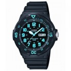 Casio Classic Diver Analog Resin Watch Black