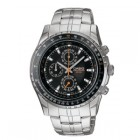 Casio Mens 3 Hand Analog Chronograph Watch